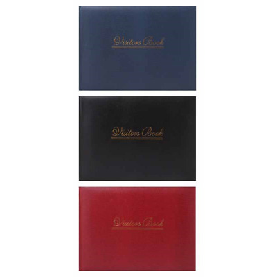 High Quality Visitors Book - Case Bound ideal Hotel, Guest House, Home, Business