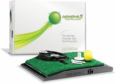 Brand New 2015 Optishot 2 Golf Simulator Swing Training Aid Infrared Optishot2