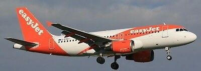 Airbus A319-100 easyJet Airliner A319 Aircraft Wood Model Large Free Shipping