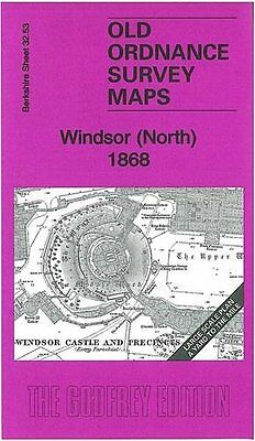Old Ordnance Survey Map Windsor (North) 1868