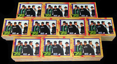 Lot of (10) 1989 Topps New Kids on the Block Trading Crd Set (88) Nm/Mt