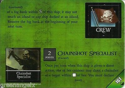 Pirates At Oceans Edge - 161 Cursed Smokepot/chainshot Specialist
