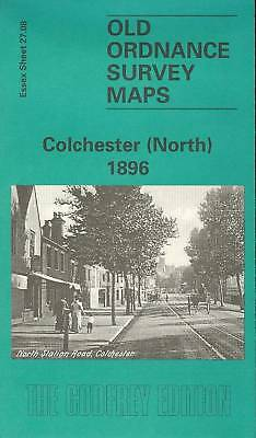 Map Of Colchester (North) 1896