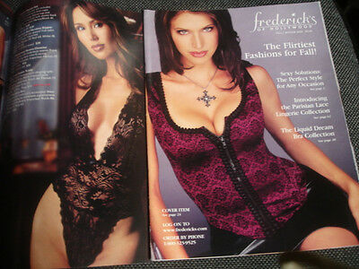 Frederick's of Hollywood Fall / Winter 2002 Flirtiest Fashions for Fall issue