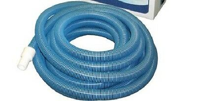 "New Haviland 24' x 1-1/4"" Vac Hose for Above-Ground Pools, Blue"