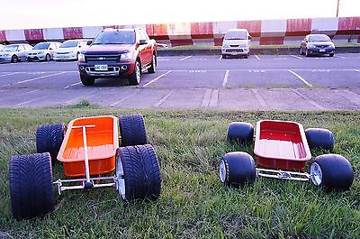 Radio Flyer Wagon Chassis Custom Stainless Steel Made (Chassis Only)