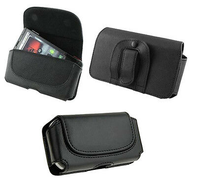 Black Belt Leather Skin Pouch Case Cover FOR Apple iphone ipod itouch hot new