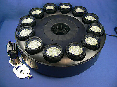480 White LED Floating Fountain Ring Great For Pools & Ponds