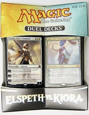 Elspeth vs. Kiora Magic the Gathering Duel Decks englisch MtG