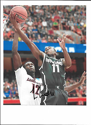 deb98c36793 Tum Tum Nairn Signed Michigan State Spartans 8X10 Photo 2015 Final Four Coa  2