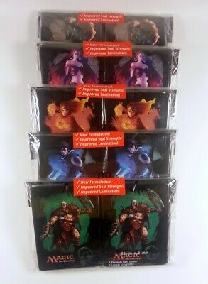 Magic the Gathering Sleeves Mana 4 (80) - Farbe wählen -