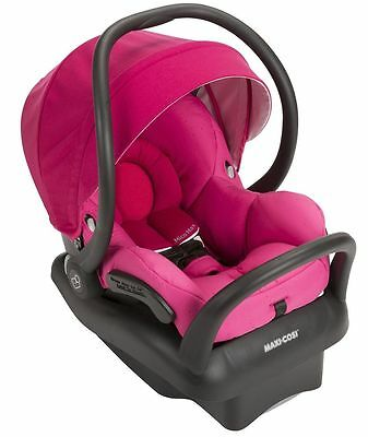 Maxi-Cosi Mico Max 30 Air Protect Infant Baby Car Seat w/ Base Pink Berry NEW