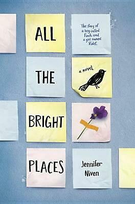 All the Bright Places by Jennifer Niven (English) Hardcover Book Free Shipping!