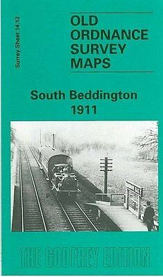 Old Ordnance Survey Map South Beddington 1911