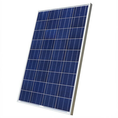 100W Solar Panel 100W Poly Solar Module for 12V Caravan Home Boat Power Charge