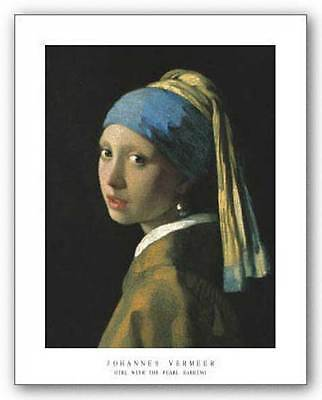 MUSEUM ART PRINT Girl with the Pearl Earring Johannes Vermeer