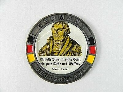 Martin Luther Metall Magnet Souvenir 5,5cm,Deutschland Germany