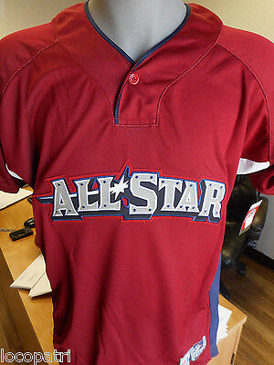Mens Majestic AAA All-Star Game 2010 Lehigh Valley 2010 Cool Base Jersey NWT 40