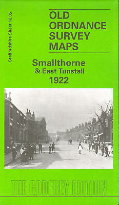 Old Ordnance Survey Map Smallthorne & East Tunstall 1922