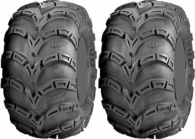 Pair 2 ITP Mud Lite AT 25x10-12 ATV Tire Set 25x10x12 MudLite 25-10-12