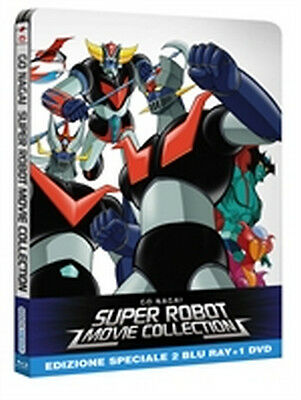 Super Robot Movie Collection - Limited Edition (2 Blu-Ray Disc + DVD - Steelbook