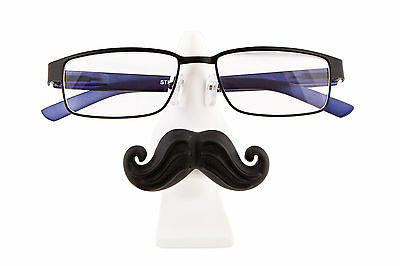 New Tache & Pout Glasses Stand Moustache Lips Holder Seat For Specs Gift Present