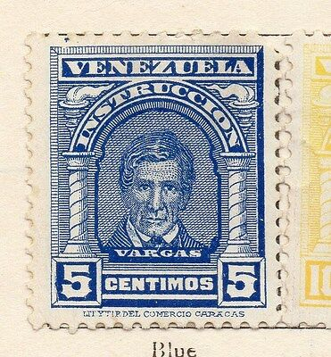 Venezuela 1911 Early Issue Fine Mint Hinged 5c. 135319