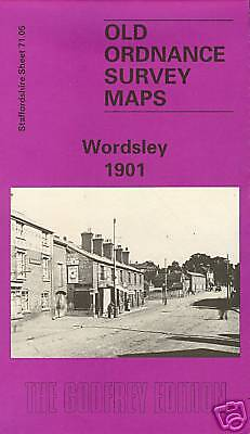 Map Of Wordsley 1901 (Best Price On Ebay 12/9/15)