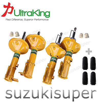 4 x Front Rear Struts Hyundai Accent LC LS Sedan Hatchback Shock Absorbers 00-06