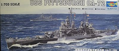 1/700 USS Pittsburgh CA-72 Model Kit by Trumpeter