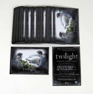 Lot of (50) 2008 Inkworks Twilight Promo Card (P-1) Nm/Mt