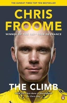 The Climb: The Autobiography by Chris Froome (New Paperback Book)