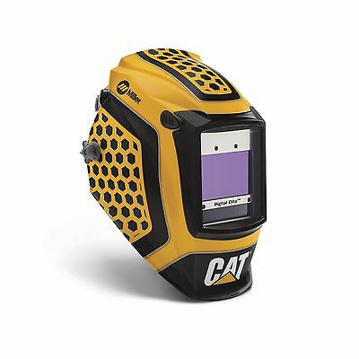 Miller Cat Edition 1 Digital Elite Auto Darkening Welding Helmet (281006)