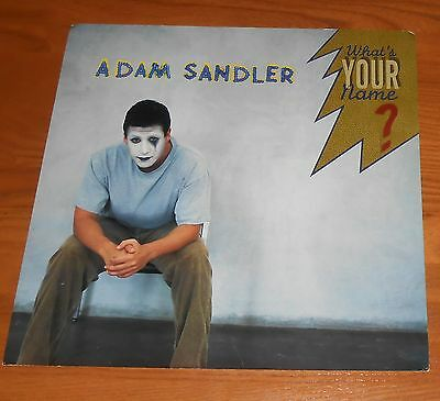 Adam Sandler What's You Name? Poster 2-Sided Flat Square 1997 Promo 12x12 RARE