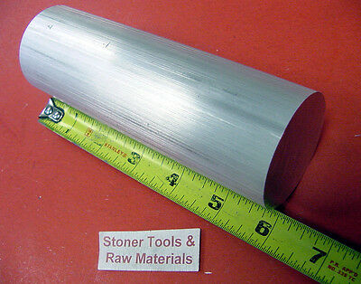 "2"" ALUMINUM 6061 ROUND ROD 6"" long T6511 NEW Lathe Solid Bar Stock 2.00"" OD"