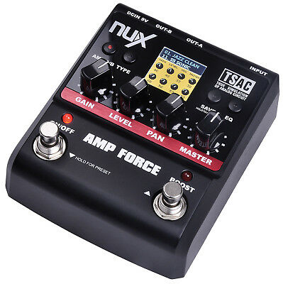 NuX Amp Force Modeling Tube Amp/Cabinet Simulator - New