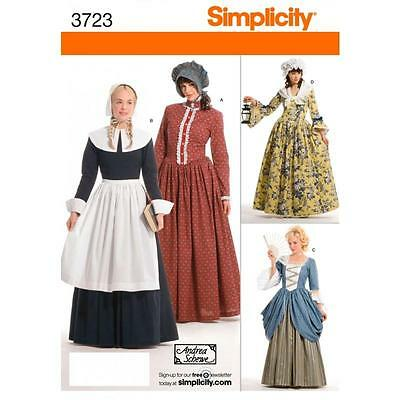 Simplicity Sewing Pattern Misses' Costumes  3723