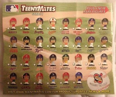 Pick Ur Favorite Team Figure 2014 Mlb Baseball Teenymates Series 1 Batters