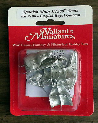 Spanish Main Kit# 9100 - English Royal Galleon - 2 Ships
