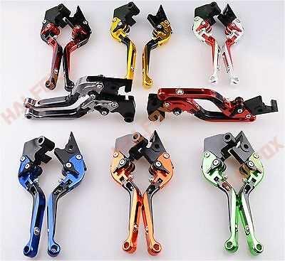 Foldable Extendable Brake clutch levers for Triumph STREET TRIPLE 675R 2009-2015