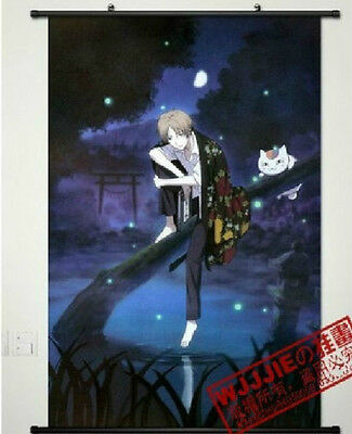 Home Decor Anime Japanese Natsume's Book of Friends Cosplay Wall Scroll Poster