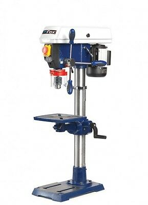 FOX Bench Table Top Pillar Drill Drilling Press 12 Speed 450w 240v F12-941A