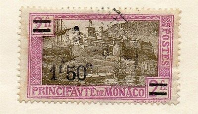 Monaco 1928-29 Early Issue Fine Used 1F.50c. 135685