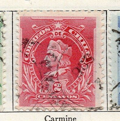 Chile 1901 Early Issue Fine Used 2c. 135764