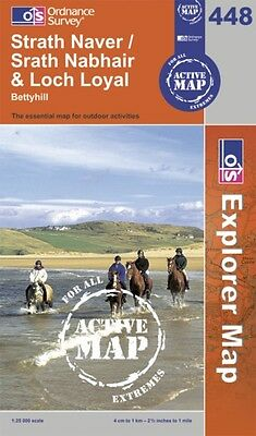 Strath Naver / Srath Nabhair and Loch Loyal (OS Explorer Map Acti. 9780319466773