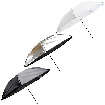 "Vivitar 43"" 43 Inch 3-in-1 Convertible Umbrella Kit"