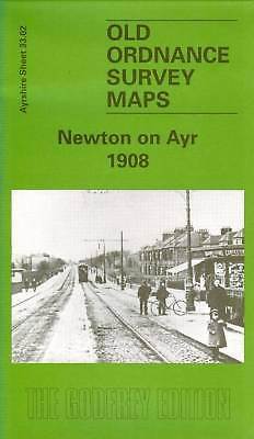 Old Ordnance Survey Map Newton On Ayr 1908