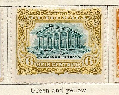Guatemala 1902 Early Issue Fine Mint Hinged 6c. 135877