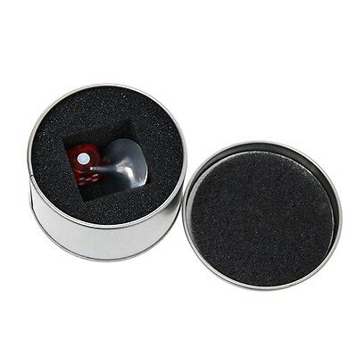 1set Craetive INCEPTION Totem Accurate Alloy Silver + Dice + Box Spinning Tops Y