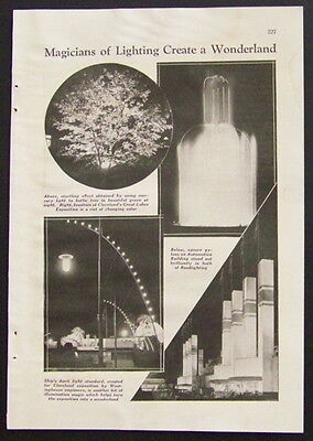 1936 Cleaveland Great Lakes Exposition vintage pictorial